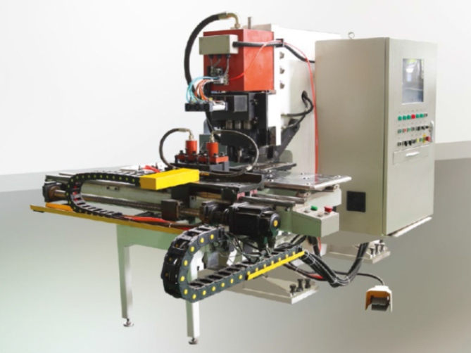 CNC Hydraulic Metal Plate Hole Punching Machine