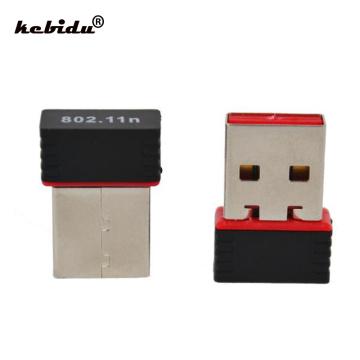 kebidu 5pcs USB 2.0 WiFi Receiver Wireless 150Mbps Network LAN Card Adapter Mini 150M 802.11 n/g/b Ralink MT7601