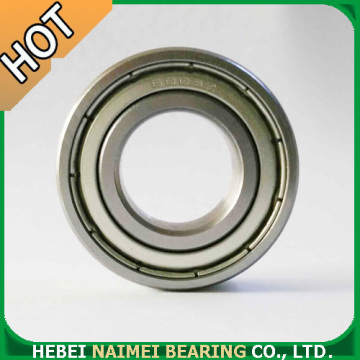 Single Row Deep Groove Ball Bearing 6004