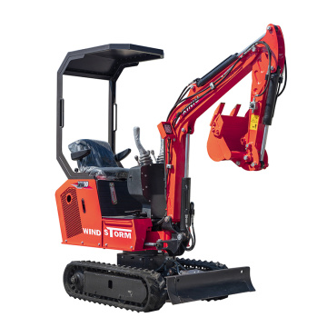 0.8t mini excavator selling in Euro