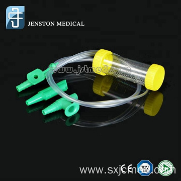 Medical disposable adult mucus extractor with CE ISO