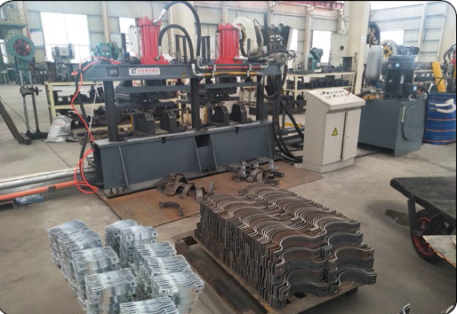 steel hoop molding machine