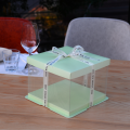 Plastic clear cake box