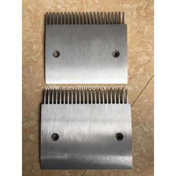 Aluminium Alloy Comb Plate Schindler Moving Walks