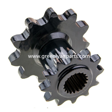 AH101340 Drive sprocket 11 teeth spline bore John Deere