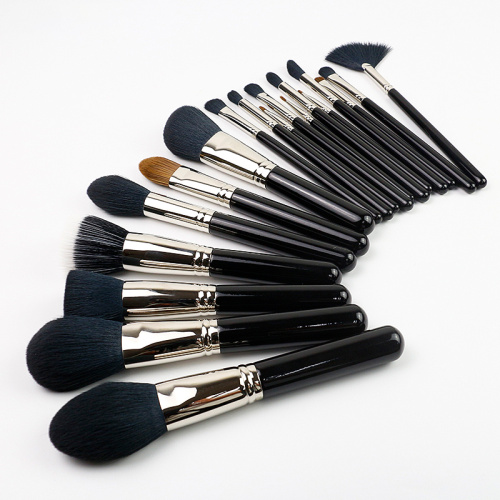 18 pcs full-featured brush set