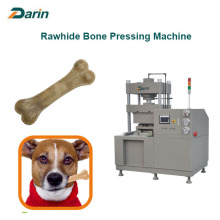 Ellie Chewing Rawhide Bone Pressing Machine