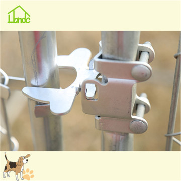 Pretty metal dog kennels and runs