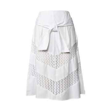 Office Lady Cotton Skirts