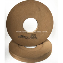 Low-e glass edges coating deletion wheel