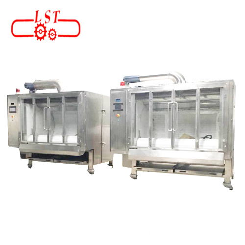 Customized Auto Chocolate Coating Machine Belt Type Chocolate Polishing Machine Price