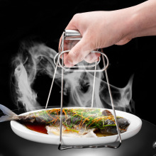 Kitchen Tool Hot Bowl Clip Pot Foldable Dish Holder Steamer Lifter Picker Bowl Clip Plate Pot Gripper Kitchen Utensil Holder