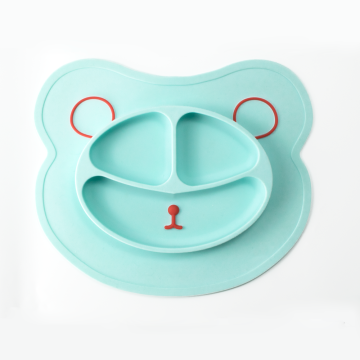 Eco-friendly Food Grade Silicone Baby Feeding Placemat