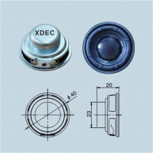 40MM 4ohm 3W Small Multimedia Speaker