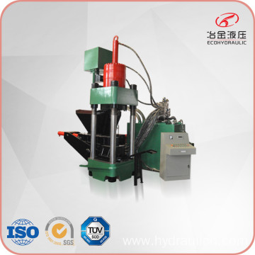 Vertical Copper Brass Powder Automatic Briquette Machine