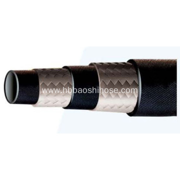 2-layer Fiber Braided Rubber Tube