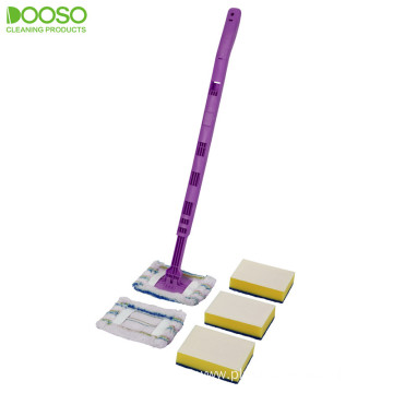 Telescopic Flexible Handle Flat Mop DS-1238B