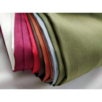 Shantung Slub Satin Fabric