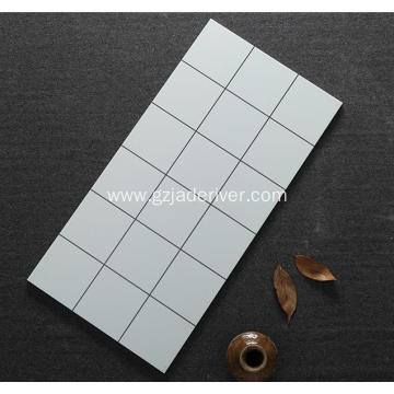 Black and White Square Mosaic Tile