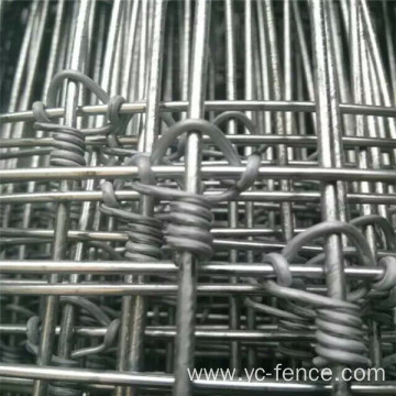 Fixed knot hot dipped galvanized deer fence
