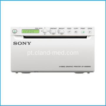 Impressora de ultra-som UP-X898MD SONY preto e branco