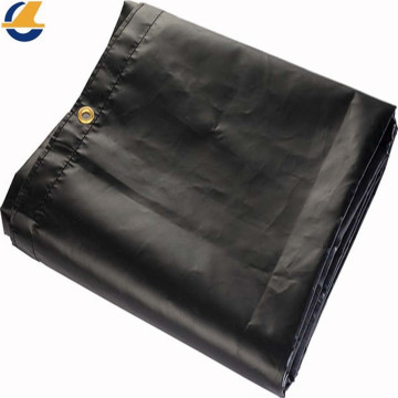 Hot sale Black Vinyl Canvas Tarps For Transportation