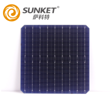 High Efficiency monon solar cell 166mm 9BB