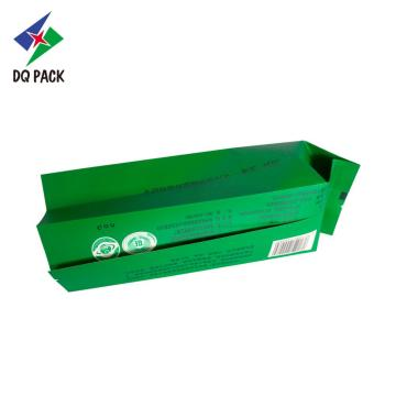 DQ PACK Factory Wholesale Packaging Pouch Green Tea Seal Disposable Packaging Bags
