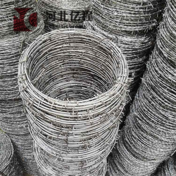 galvanized barbed wire price in china factory