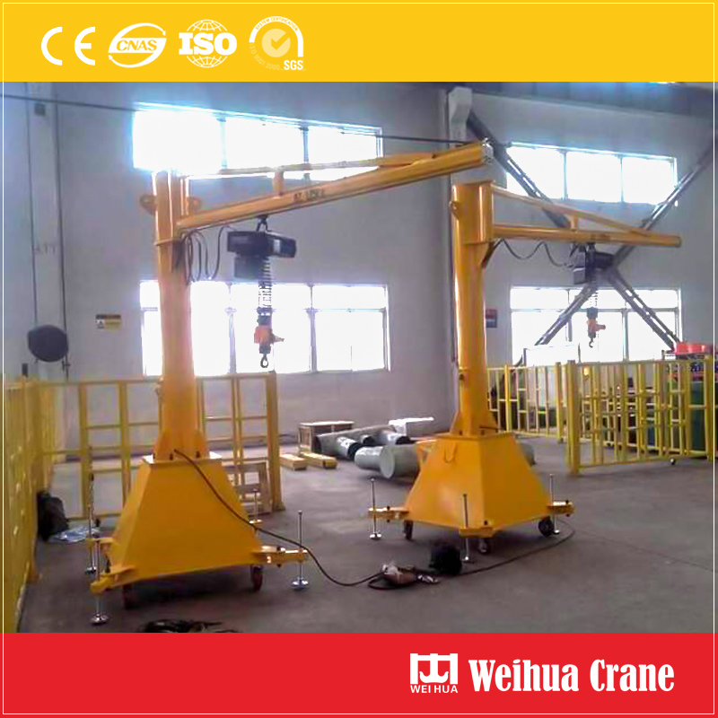 Mobile Portable Jib Crane