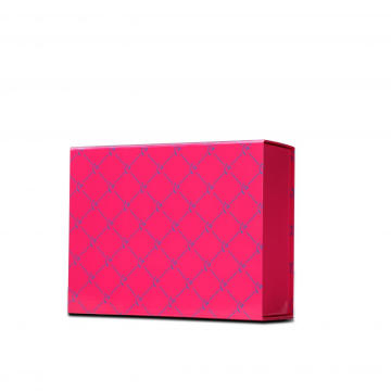 Regular Pink Folding Cosmetic Paper Boxes