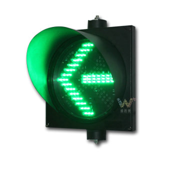 300mm directional warning green arrow traffic light