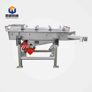 carbon steel linear vibrating screen for wood chip