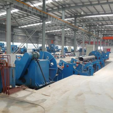 Beveling and Chamfering Machine For Spiral Weled Pipe