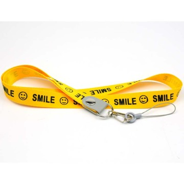 Cheap custom branded long lanyards for cell phone