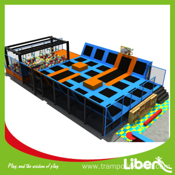 Teenager favorite customized outdoor gymnastic trampoline