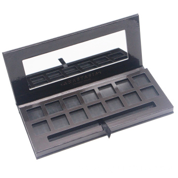 DIY makeup palette eye shadow palette with mirror