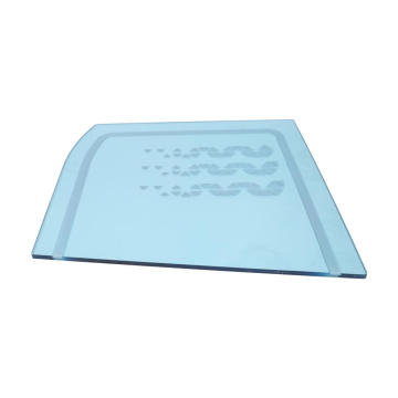 Clear solid polycarbonate plastic sheet printing