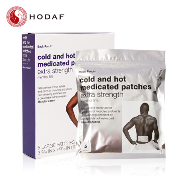 Cold and hot medicated patch for Man