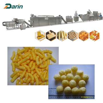 120~150kg/hr Puff Snacks Extruding Making Line