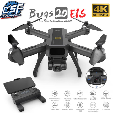 NEW B20 GPS Drone With 4K 5G WIFI HD Camera Electronic image stabilization Quadcopter Brushless Professional Dron Vs SG906 PRO