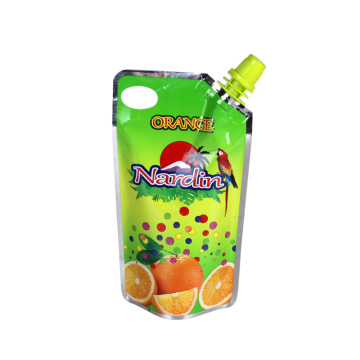 Liquid Stand Up Pouch with Spout