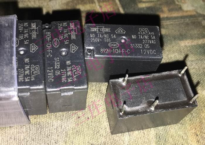 Relay 892H-1CH-F-C 12VDC 33F-1C-12V-7A
