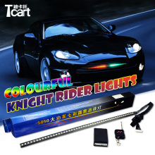 Tcart 147model Waterproof 54CM 48LED RGB highpower remote RGb color LED Knight Rider Lights with wireless remote control
