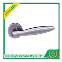 SZD STLH-003 USA Popular Dubai Style Lever Door Handle On Round Rose Stainless Steel