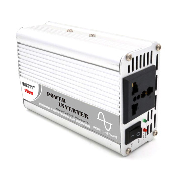 150W 12V/24VDC to 110V/220VAC Pure Sine Wave Inverter