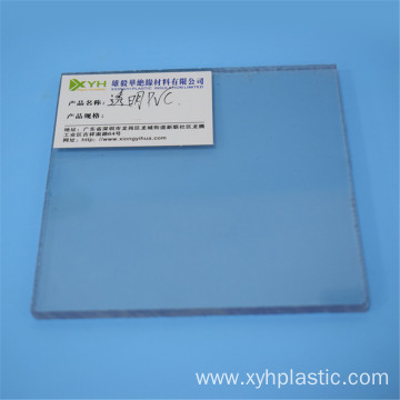 Transparent Hard PVC Panel