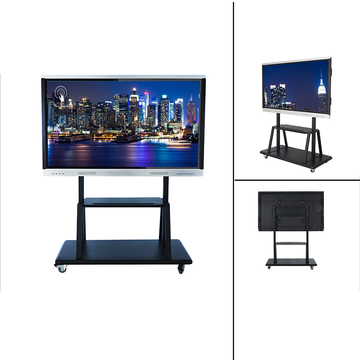 75 Inches Smart LED Panel With Mobile Stand
