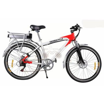 26 Inch Alloy Frame Mountain E Bike