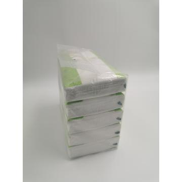 Soft Pack Paper Virgin Wood Pulp Facial Tissue